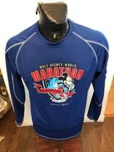 MENS Medium Champion Long Sleeve Shirt Walt Disney World Marathon 20th Anniv '13 - $24.74