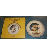 """1975 Hummel Stormy Weather 1st Ed Anniversary 10"""" Plate in Bas Relief by... - $12.60"""