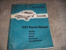 1983 Toyota Cressida Service Shop Repair Workshop Factory Manual OEM 1983 - $27.67