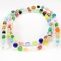 Colorful Confetti Beaded Eyeglass Chain - $22.88