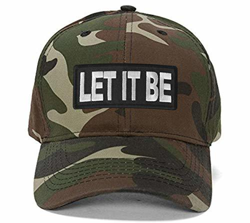 Let It Be Hat - Adjustable Cap (Camo)