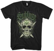SUBLIME T-SHIRT - LBC SKULL [S/M/L/XL] - NEW UNWORN - BLACK - $9.99