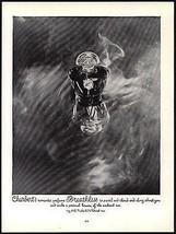 Breathless Charbert  Perfume Romantic 1949 Perfume Bottle Photo AD - $14.99