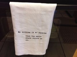 The Best Message Kitchen Gift Towel  Made in USA by Hand image 10