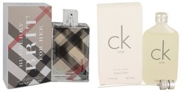 Gift set  Burberry Brit by Burberry Eau De Parfum Spray 3.4 oz And  CK O... - $76.32+