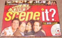 SCENE IT DVD GAME SEINFELD 2008 MATTEL SCREENLIFE SEALED CARDS - $25.00