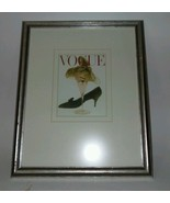 "Vintage Vogue Martini Glass Cover on 12 1/2"" X 16"" Retro Frame - $15.67"