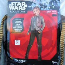Disney Star Wars Rogue One Jyn Erso Costume Size 4-6 Age 3-4 Rubies Two ... - $23.74