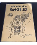Anime ONE PIECE Film Gold Movie Clear File - $13.34