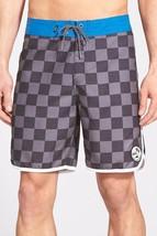 Vans BoardShorts PLANETARY Shorts SZ 28 SWIM SUIT HOT SURF blue black gr... - $23.33