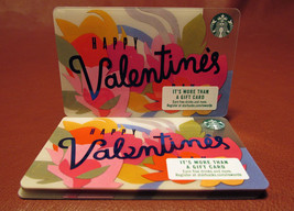 Lot of 13 Starbucks 2017 HAPPY Valentine's Gift Cards New with Tags - $19.40