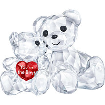 Authentic Swarovski Kris Bear - You Are The Best - Crystal Figurine - $120.62