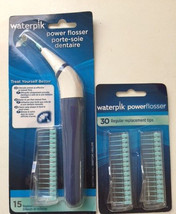 Waterpik FLA-220 Power Flosser Plus 30 Replacement Tips (Total of 45 Tips) - $15.83