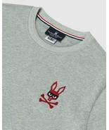 Psycho Bunny Rawson Mischief Zorro Bunny Sweatshirt Heather Gray    Size... - $97.02