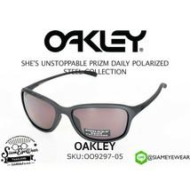 Oakley She's Unstoppable POLARIZED Sunglasses OO9297-05 Steel W/ PRIZM D... - $79.19