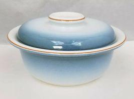 Nikko Gradiance Cereal Soup Bowl Lid Set of 4 Azure Leafette Dish Microwave Safe image 4