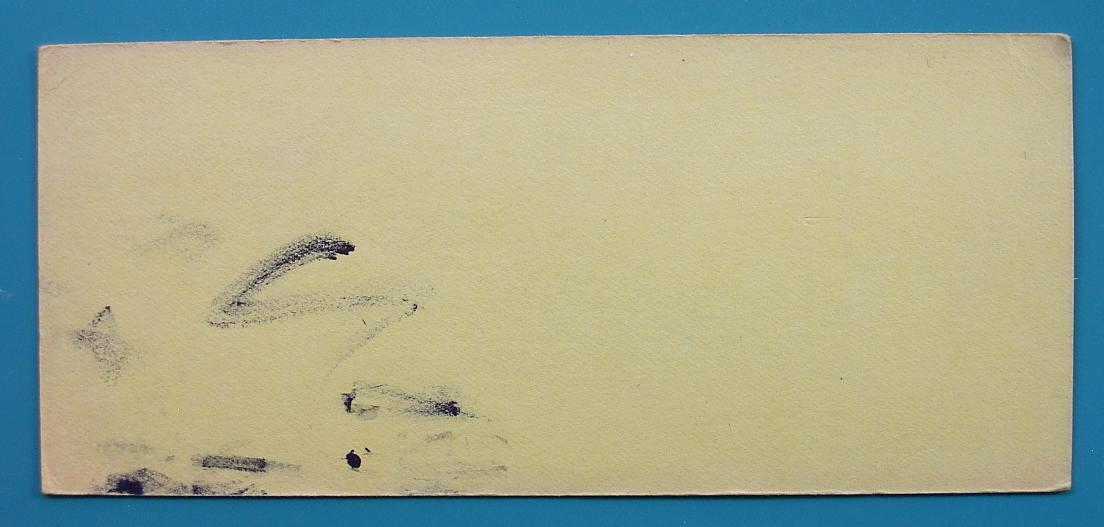 INK BLOTTER 1940s - Martin Senour Paints Lin-x Kem-Tone Stockton California
