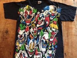 Scary Evil Murder Killer Clown Shirt Size M Clowns It cool   - $7.59