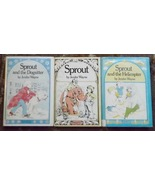 Sprout, Sprout and the Helicopter, Sprout and the Dogsitter by Jenifer W... - $6.00