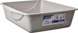 Petmate Open Cat Litter Box, Blue Mesa/Mouse Grey, 4 Sizes - $18.46