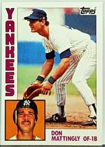 "Hot! Don Mattingly Rookie 1984 Topps #8 Yankees ""Donnie Baseball"" '85 Mvp, Hof? - $69.95"