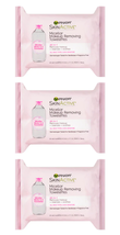 (3x) GARNIER Skin Active Micellar Makeup Removing Towelettes All-in-1 Wipes - $7.94