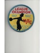 1961-1962 WIBC League Champion patch - $5.94