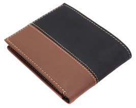 Timberland Men's Genuine Two Tone Leather Credit Card Billfold Commuter Wallet image 10