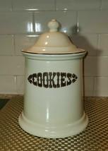 Pfaltzgraff Village Cookie Jar --Slant Sides, Usa Euc! - $29.70
