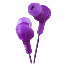 JVC HAFX5V Gumy Plus Inner Ear Headphones (Grape Violet) - $16.72