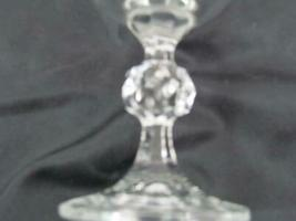 """Lot of 2 Mikasa Crystal Footed Clear Cut Stem 6 7/8"""" Champagne image 6"""