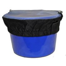 Horse Spa Mesh Bucket Top Large 20 Quart 5 Gallon Horse Feed Bucket Cover image 2