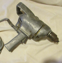 "AW1 VINTAGE ELECTRICIAN DRILL ALL METAL STRONG HEAVY DUTY 1/2"" CHUCK CRA... - $25.00"