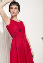 50s vintage reworked little red dress - $64.47