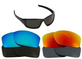 Ersatzgläser für Oakley Valve Sonnenbrille Anti-kratzer Mehrfarbig - $14.25+