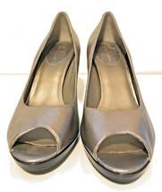 Cole Haan Air Pump Women's 10B Silver Heels F9 D29708 - $26.72
