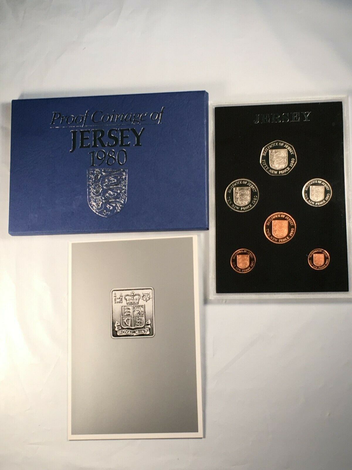 1980 Jersey 6 Coin Proof Set Lot#B171