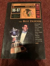 1996/97 Chicago Blackhawks Hockey Media Press Guide Book Chris Chelios - $5.89