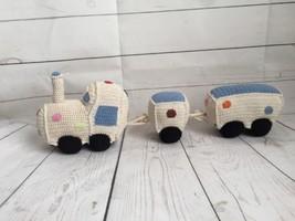 Anne Claire Petit Cotton Crochet HandMade Train Set for Kids  - $178.20