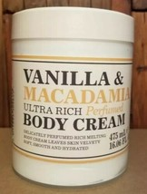 CREIGHTONS VANILLA &MACADAMIA ULTRA RICH PERFUMED BODY CREAM 16.06 OZ NEW - $24.67