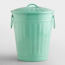 Mint Retro Galvanized Trash Can - $42.27