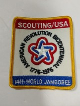Boy Scout 14th World Jamboree Embroidered Cloth Patch American Revolutio... - $14.20