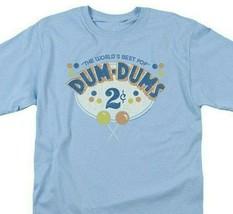 Dum-Dums T-shirt 2 Cents retro candy classic graphic tee DUM117 Blue image 1