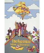 Russian The Beatles Hot Air Balloon Yellow Submarine Postcard - $9.99