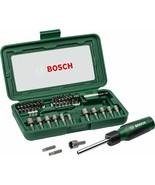 Bosch 46 pc Tool Screwdriver Ratchet Bit Socket Wrench Magnetic Bit Hold... - $34.50