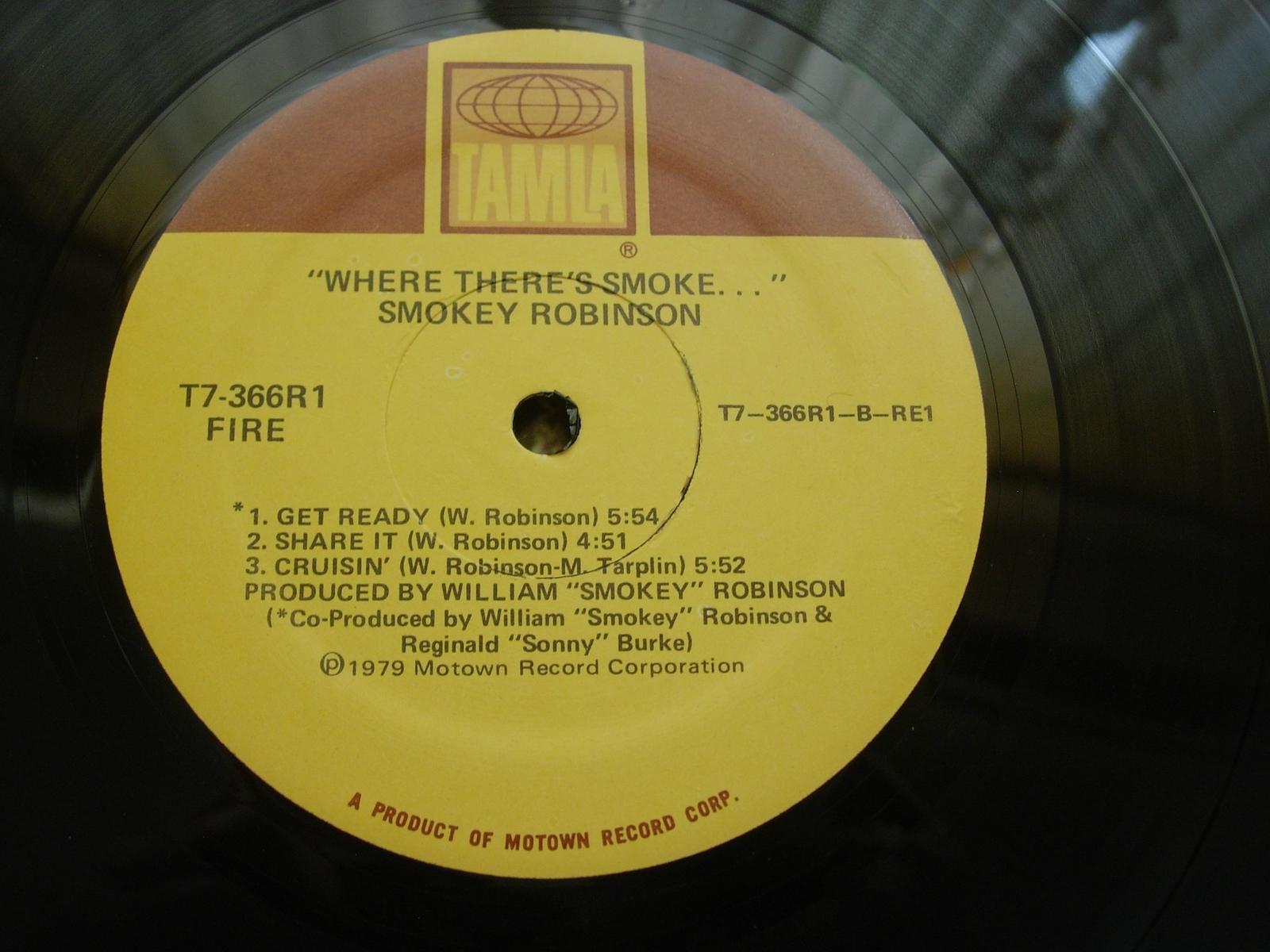Smokey Robinson - Where There's Smoke - Tamia T7-366R1