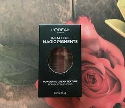 L'Oreal Infallible Magic Lip Pigments Powder-To-Cream 462 Coffee Date - $3.00