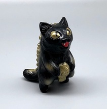 Max Toy Black and Gold Micro Negora - Mint in Bag image 2