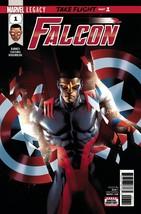 Falcon #1 1ST Print Legacy Sam Wilson Marvel Comics 2017 - $2.96