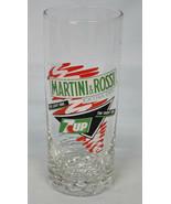 "7 Up Martini & Rossi Glass 1991, 6"" tall 12 oz - $14.74"